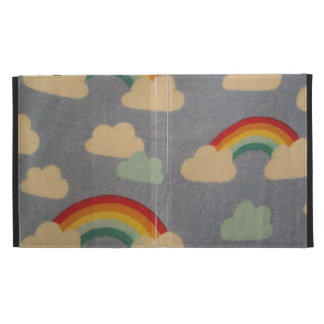 clouds and arc IRIS iPad Cases