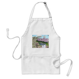 """""""Clouds and Cliffs"""" Standard Apron"""