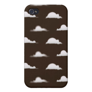 clouds brown covers for iPhone 4