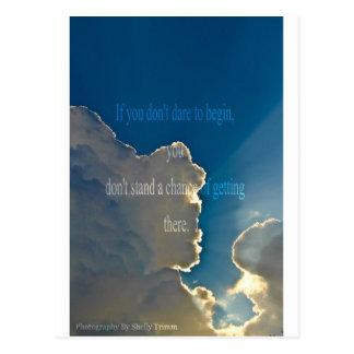 clouds - Start Postcard