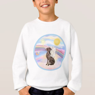 Clouds - Weimaraner Angel Sweatshirt