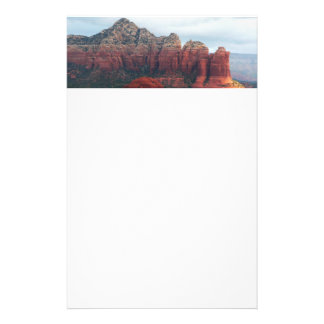 Cloudy Coffee Pot Rock in Sedona Arizona Stationery Paper