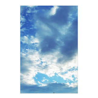 """Cloudy in Boothbay Maine 5.5"""" x 8.5"""" Stationery"""