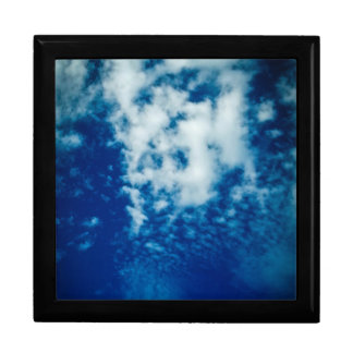 Cloudy Sky Large Square Gift Box