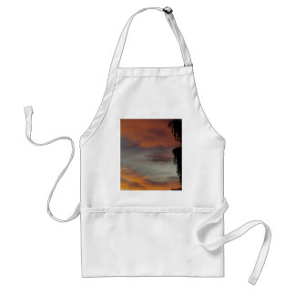 Cloudy waves standard apron