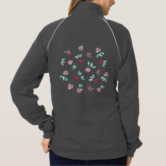 Clover Flowers Women's Track Jacket