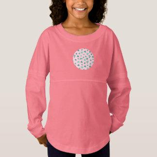 Clover Leaves Girls' Spirit Jersey T-Shirt