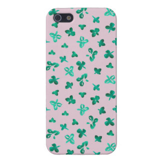 Clover Leaves iPhone 5/5s Glossy Finish Case iPhone 5 Cases