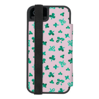 Clover Leaves iPhone SE/5/5s Wallet Case Incipio Watson™ iPhone 5 Wallet Case