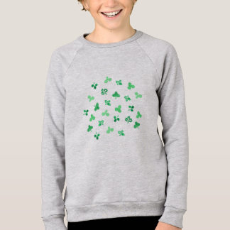Clover Leaves Kids' Raglan Sweatshirt
