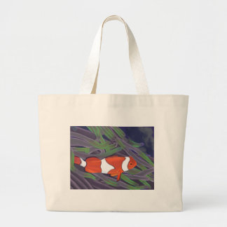 clown fish jumbo tote bag