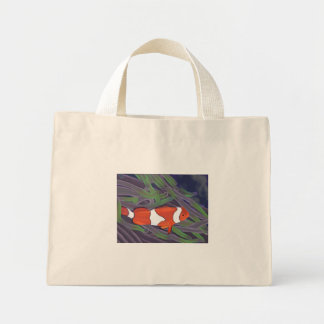 clown fish tote mini tote bag