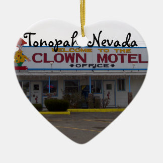 Clown Motel Christmas Ornament