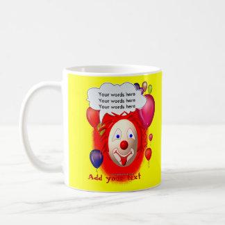 Clown Theme Party Basic White Mug