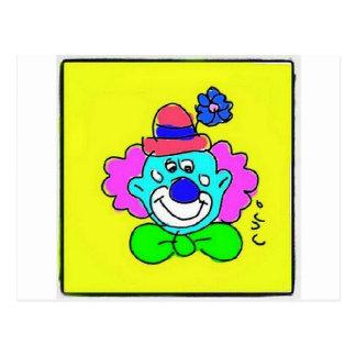 Clown Tótó I Postcards