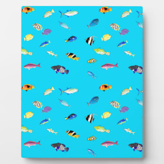 Clownfish and Tangs Scatter Photo Plaques