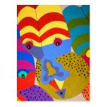 Clowns Postcard