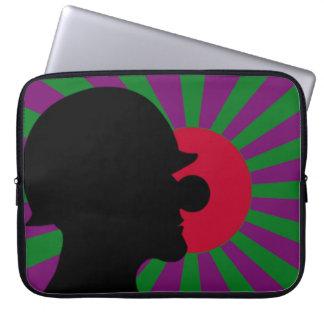 Clownsec Rising Sun Flag Laptop Case Computer Sleeves