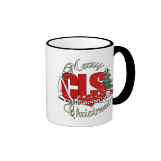 CLS CHRISTMAS  Clinical Laboratory Scientist Ringer Mug