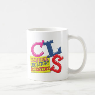 CLS WHIMSICAL  CLINICAL LABORATORY SCIENTIST BASIC WHITE MUG
