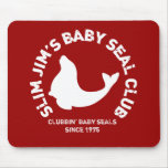 Clubbing Baby Seals Mouse Mats