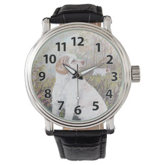 Clumber Spaniel Puppy Dreamer Wristwatch