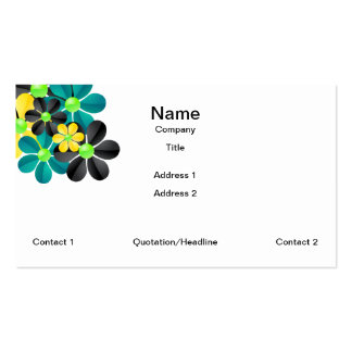 Cluster of Flower Business Card