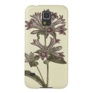 Clustered Bellflower Botanical Illustration Galaxy S5 Cover