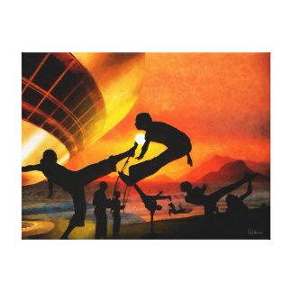 CM9352 - Capoeira Rio Canvas Print