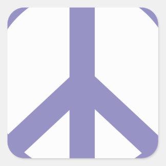 CND Peace Sign Square Sticker