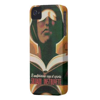 CNT propaganda Spanish Civil War Case-Mate iPhone 4 Cases