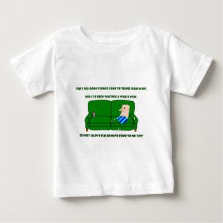 Coach Potato Baby T-Shirt