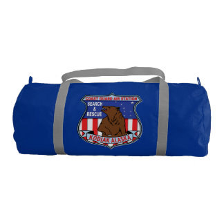 Coast Guard Air Station Kodiak Gym Duffel Bag