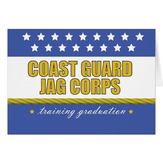 Coast Guard JAG Corps Training Graduation Card