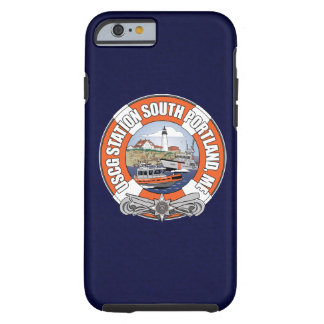 Coast Guard Station South Portland Maine Tough iPhone 6 Case