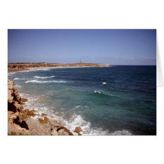 Coastal Landscape Yorke Peninsula, Australia, Card