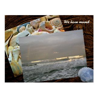 Coastal Living Photo Template New Address Postcard