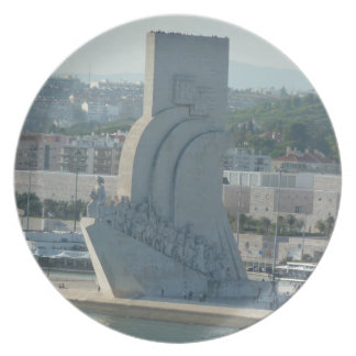 Coastal Views - Monument to the Discoveries Plate
