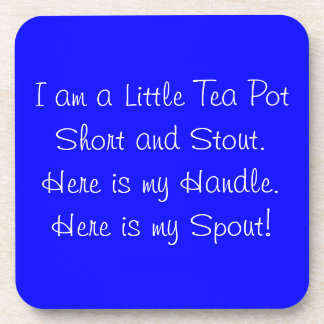Coaster Cork Tea Pot Short, Stout