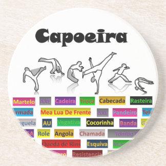 coasters capoeira shadow grey, Capoeira techniques