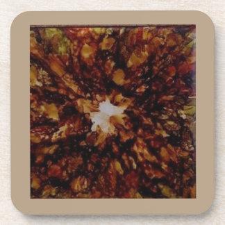 Coasters - Orange, Brown Tones