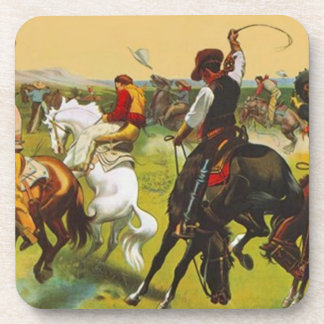 Coasters Wild West Bronco Busting Horses Riding