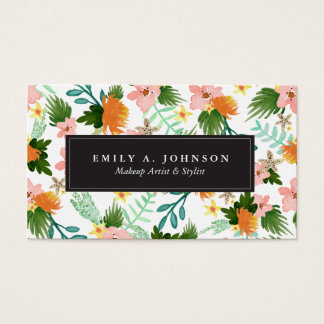 Coastline Floral Business Card