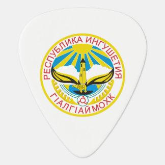 Coat of arms of Ingushetia Guitar Pick