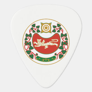 Coat of arms of Khakassia Guitar Pick