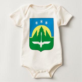 Coat_of_Arms_of_Khanty-Mansiysk Baby Bodysuit