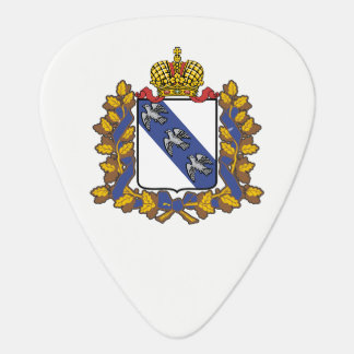 Coat of arms of Kursk oblast Guitar Pick