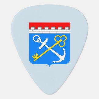 Coat of arms of Leningrad oblast Plectrum