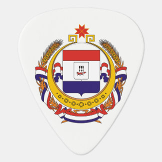 Coat of arms of Mordovia Plectrum