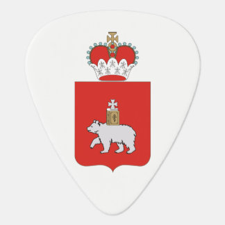 Coat of arms of Perm krai Guitar Pick